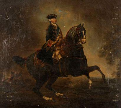ÉCOLE TRANGERE XVIIIE SIECLE  Portrait d'un...