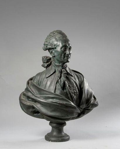 JEAN-ANTOINE HOUDON (1741-1828), D'APRES....