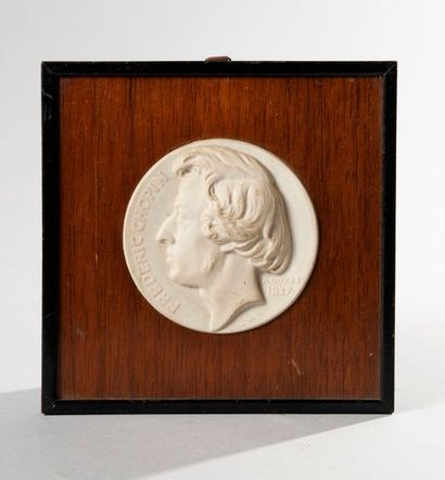 ANTOINE BOVY (1795-1877).  Frédéric Chopin...