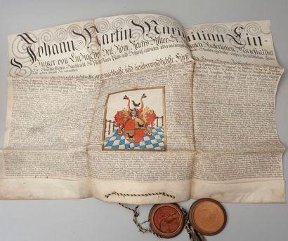 Lettres passées au nom de l'Empereur Joseph...