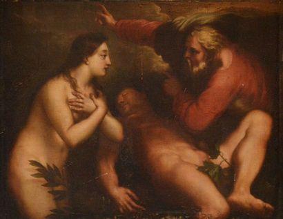 ECOLE VÉNITIENNE VERS 1630, ENTOURAGE DE...