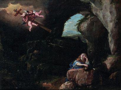 ECOLE HOLLANDAISE VERS 1700  Marie Madeleine...