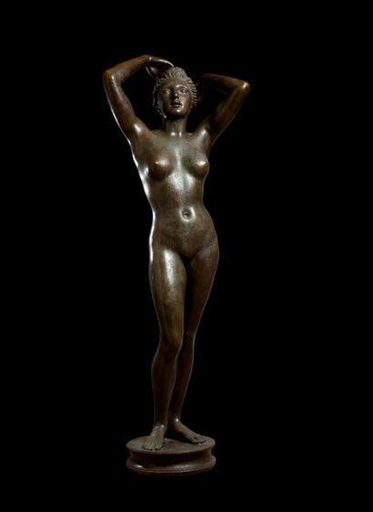 ARNO BREKER (1900- 1991)  Femme aux bras...