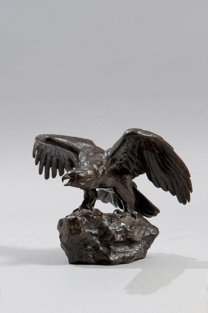 ANTOINE-LOUIS BARYE (1796-1875)  Bronze d'édition...