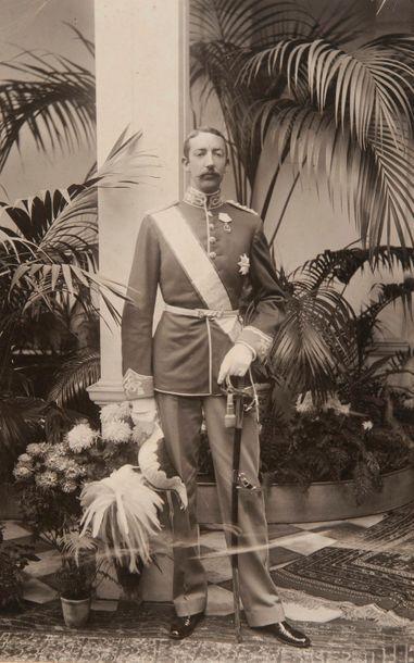 Prince Jean d'Orléans, duc de Guise (1874-1940) et Princesse Isabelle d'Orléans...