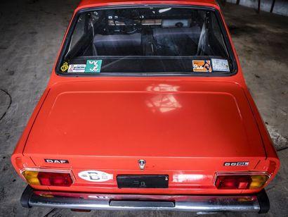 Daf 66 coupé Daf 66 coupé N° châssis ou moteur : 6624832971 La DAF 66 est le dernier...