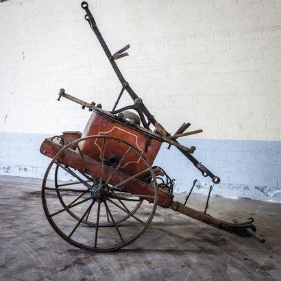 Pompe à bras BEDUWE Pompe à bras BEDUWE circa 1900 N° châssis ou moteur : Pompe à...