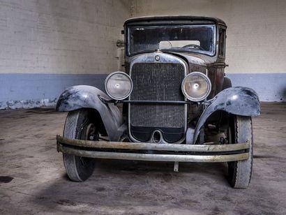 Studebaker Dictator 6 berline Studebaker Dictator 6 berline 1928 N° châssis ou moteur...