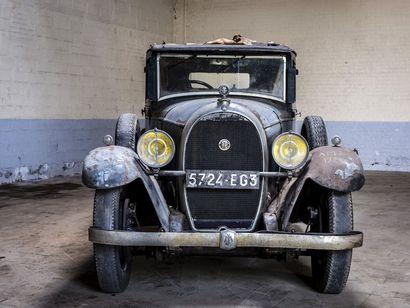 Hotchkiss AM2 berline Hotchkiss AM2 berline 1930 N° châssis ou moteur : 16878 Tandis...