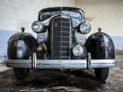 LaSalle Berline LaSalle Berline 1940 N° châssis ou moteur : 2212619 General Motors...