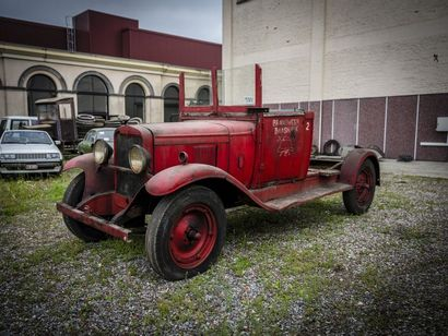 Chevrolet pompiers 6 cylindres Chevrolet pompiers 6 cylindres circa 1932 N° châssis...