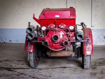 Moto pompe Dennis Moto pompe Dennis circa 1950 N° châssis ou moteur : Notre moto...
