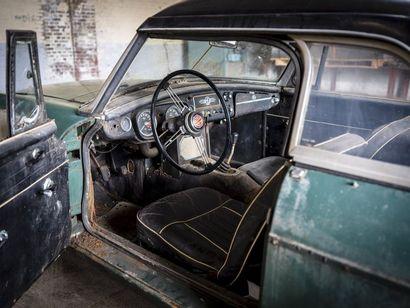 MGB verte MGB verte 1963 N° châssis ou moteur : GHN3L12845 pas de titre de circulation...