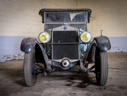 Fiat 509 torpedo Fiat 509 torpedo 1928 N° châssis ou moteur : 134504 sans titre de...