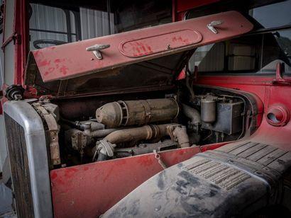 Mercedes déménagement Mercedes déménagement 1954 N° châssis ou moteur : 312210 Le...