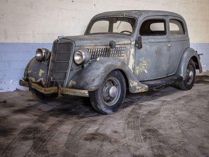 Ford V8 Tudor Ford V8 Tudor 1935 N° châssis ou moteur : sans titre de circulation...