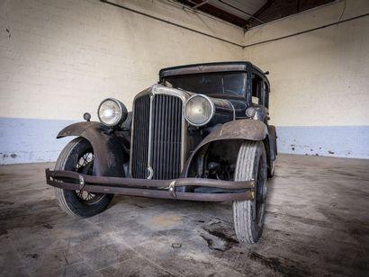 Chrysler impérial berline 6 glaces Chrysler impérial berline 6 glaces 1933 N° châssis...