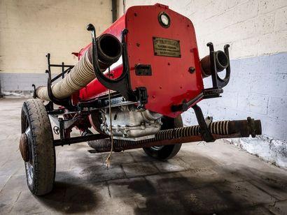 Moto pompe Wasterlain Moto pompe Wasterlain circa 1940 N° châssis ou moteur : Il...