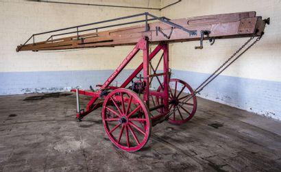 Echelle pompiers bois Echelle pompiers bois circa 1930 N° châssis ou moteur : Témoignage...