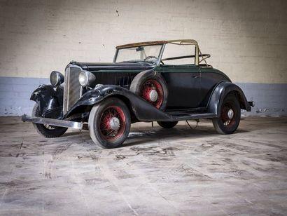 Chevrolet spider 1933