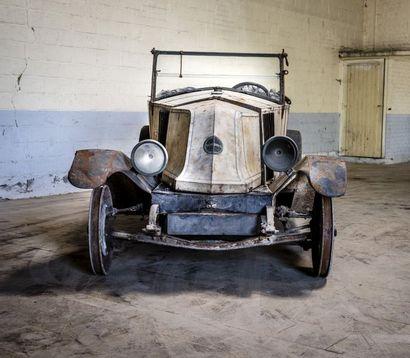 Renault torpedo NN Renault torpedo NN 1923 N° châssis ou moteur : 137054 Née en 1924,...