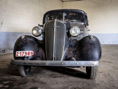 Chevrolet Berline Chevrolet Berline 1936 N° châssis ou moteur : FC186 L'histoire...