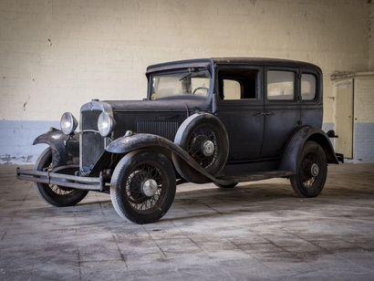 Chevrolet AE Independance berline Chevrolet AE Independance berline 1931 N° châssis...