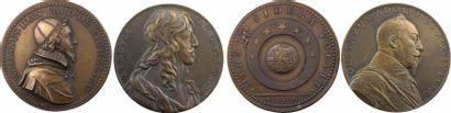Louis XIII, paire de médailles