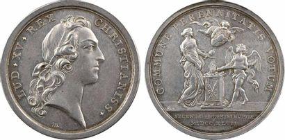 Louis XV, second mariage du Dauphin avec Marie-Josèphe de Pologne, 1747 Paris