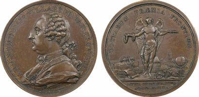 Louis XV, duc de Villars, prix de l'Académie de Marseille, 1766 (postérieure) Paris