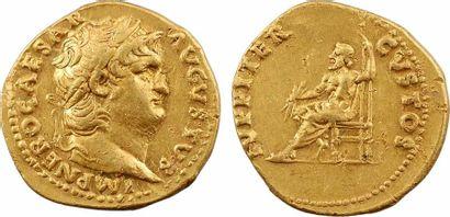 Néron, aureus, Rome, 64-65