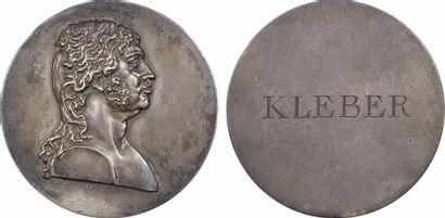 Premier Empire, le Général Kléber, médaille uniface, s.d