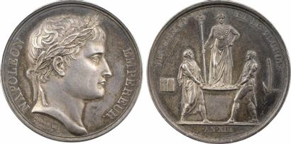 Premier Empire, le sacre de Napoléon Ier, An XIII (1804) Paris