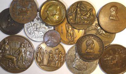 Premier Empire, lot de 14 médailles