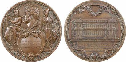 Louis-Philippe Ier, pose de la première pierre du nouvel Hôtel du ministère des Affaires étrangères,