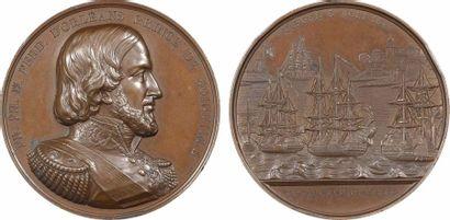 Algérie/Maroc, Bombardements de Tanger et de Mogador par le Prince de Joinville, 1844 Paris