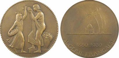 Algérie, Centenaire de l'Algérie, par P.-M. Poisson, 1930 Paris Algérie, Centenaire...