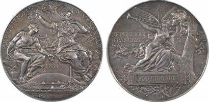 Bottée (L.) : Exposition Universelle de 1889, en argent, 1889 Paris