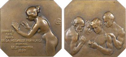 Charpentier (A. L. M.) : Société des Amis de la Médaille Française, 1899 (1901) Paris, SAMF N° 106