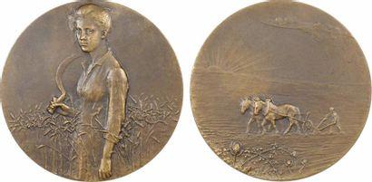 Dampt (J.) : La moisson, 1904 , SAMF N° 126