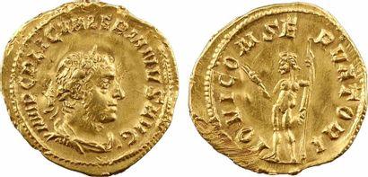 Valérien Ier, aureus, Rome, 256-259