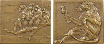 Jouve (P.) : les Singes, 1906 Paris, SAMF N° 103
