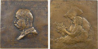 Landowski (P.) : le Docteur Arnozan et la convalescente, 1923 Paris