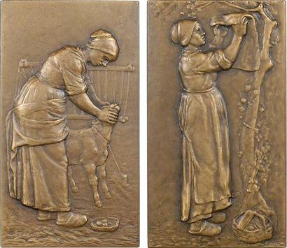 Nivet (E.) : Paysannes du Berry, 1910 Paris, SAMF N° 113