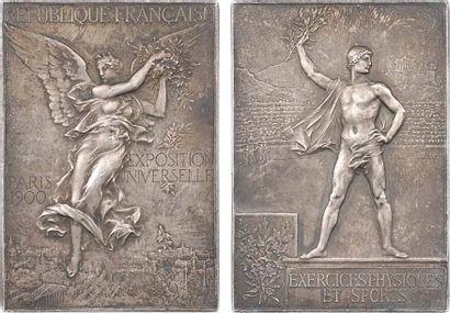 Vernon (F.) : Exposition Universelle et Jeux Olympiques de Paris, exercices physiques et sports, 190