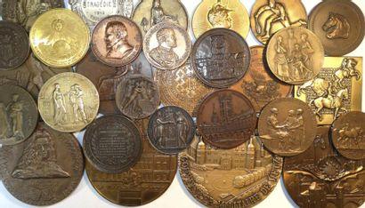 Divers : lot de 29 médailles