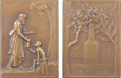 Mariani : le vin à la coca Mariani, par Patriarche, s.d. Paris