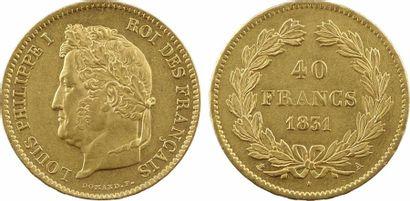 Louis-Philippe Ier, 40 francs, 1831 Paris