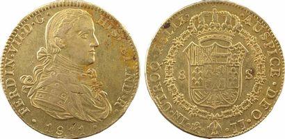 Mexique, Ferdinand VII, 8 escudos, 1811 Mexico