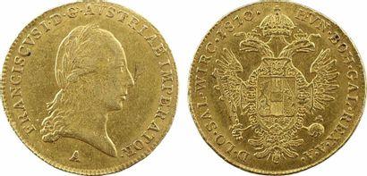 Autriche, François Ier, ducat, 1810 Vienne